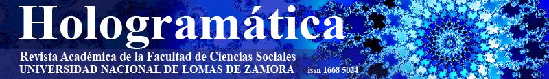 Hologramática Revista académica de la Facultad de Cs Sociales de la UNLZ